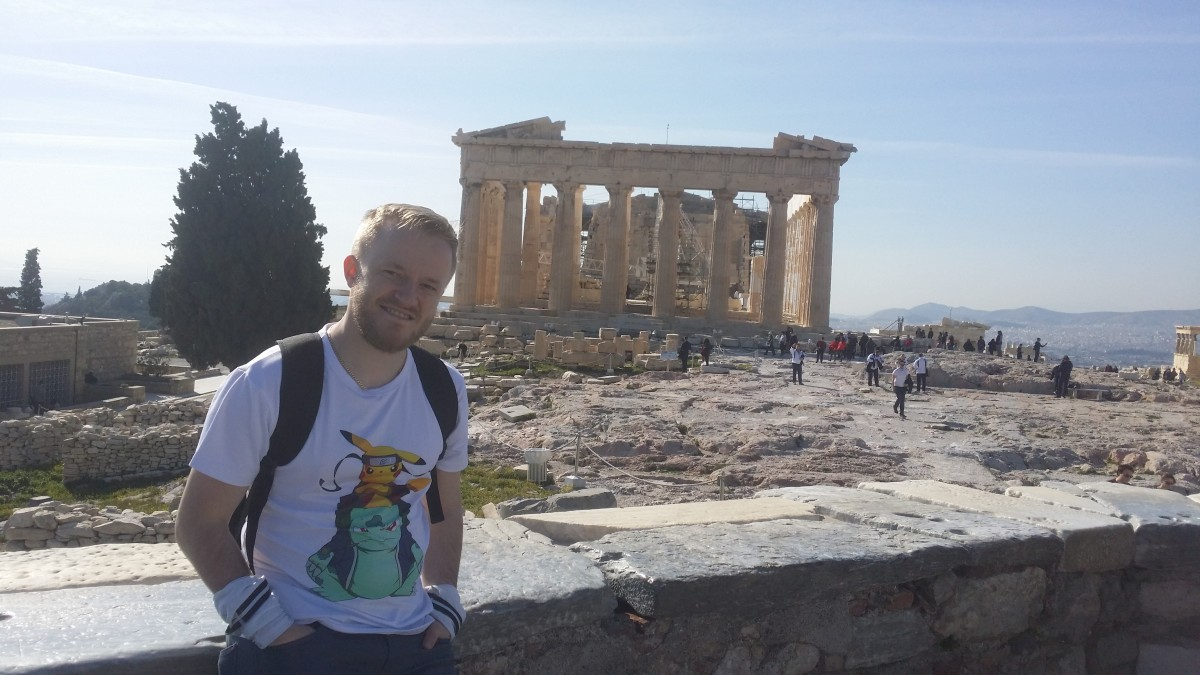 La pas prin Atena
